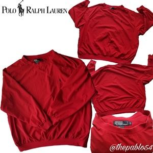 Men's Ralph Lauren Polo Red Vintage Windbreaker